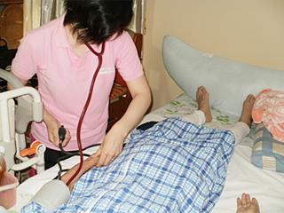 訪問看護の様子